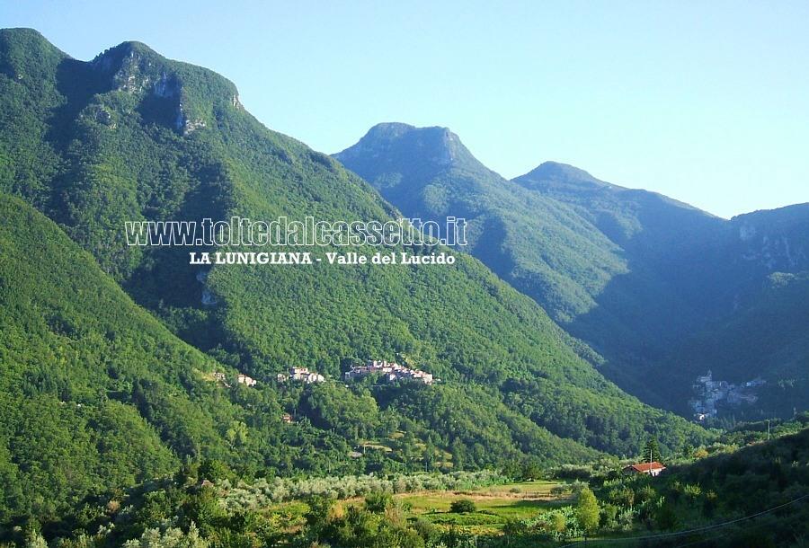 Valle Del Lucido.Lunigiana Panorama Della Valle Del Lucido
