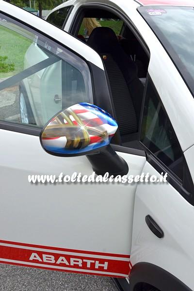 Tuning Specchietto Dx Aerografato Di Fiat Punto Abarth