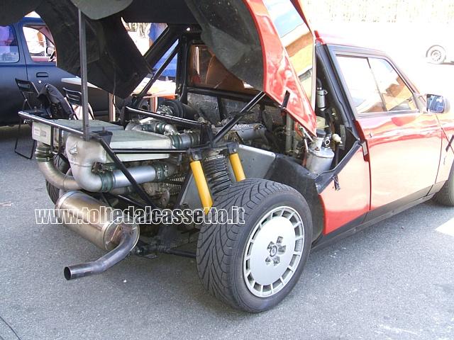 Tuning Vano Motore Di Una Lancia Delta Abarth S4