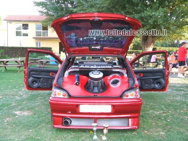 Tuning peugeot 106 car audio video