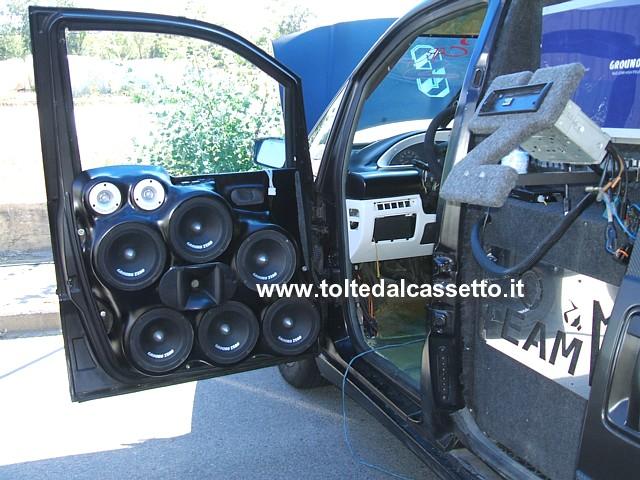 Tuning Portiera Di Fiat Ulysse Con 9 Altoparlanti Ground