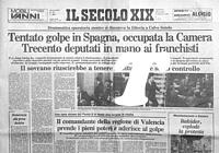 Prime pagine di quotidiani e riviste cronaca dal 1981 al for Diretta tv camera deputati