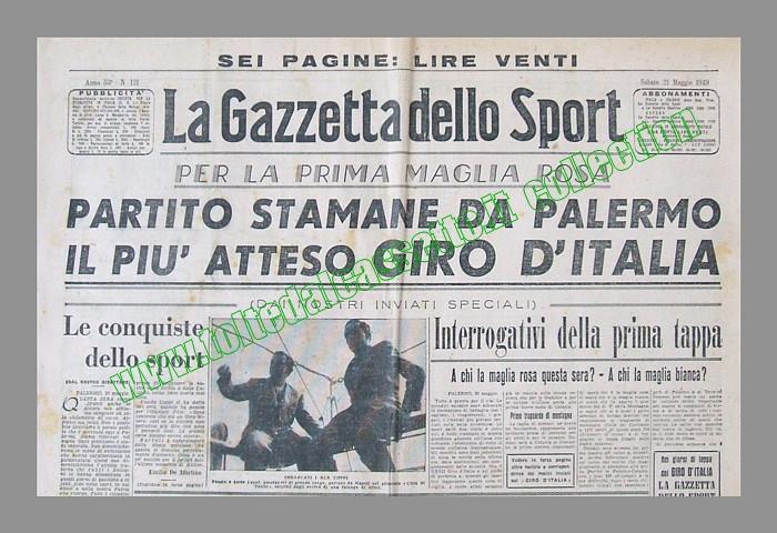 Gazzetta Dello Sport Giro Italia la Gazzetta Dello Sport Del 21