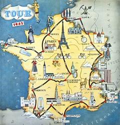 Cartina Della Francia Con Monumenti.Tour De France Origini Della Corsa E Anni Epici Con Bartali Coppi E Altri Campioni